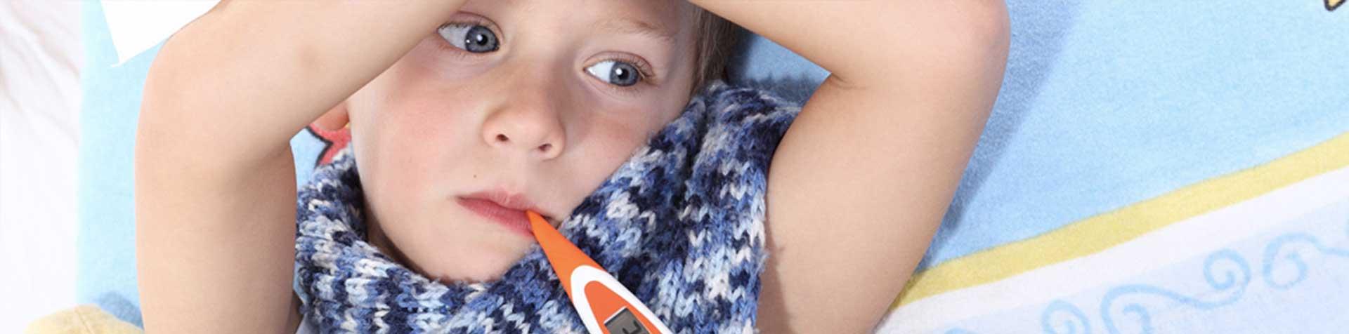 Faire garder son enfant malade